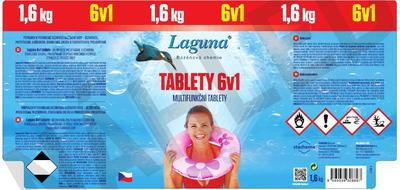 Laguna tablety 6 v 1  1,6 kg - 2