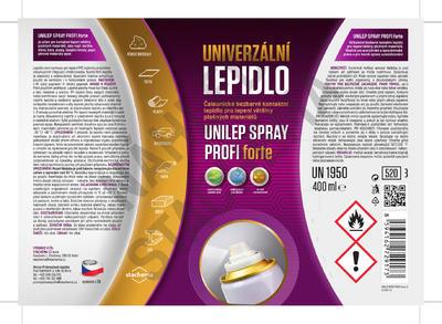 UNILEP SPRAY PROFI FORTE - 400ml - 2