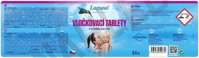 Laguna vločkovací tablety 0,5kg - 2