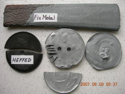 FixMetal Ferro-tixo ČERNÝ, tekutý kov, souprava 200 g  - 3