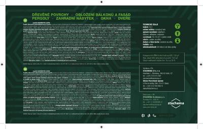 LIGNOFIX SILNOVRSTVÁ LAZURA - pinie 0,75l - 3