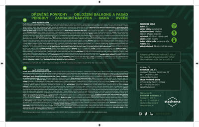 LIGNOFIX SILNOVRSTVÁ LAZURA - wenge 0,75l - 3