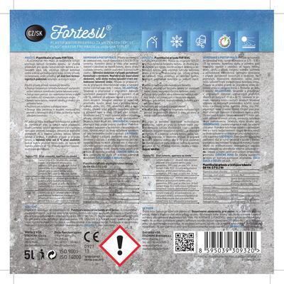 FORTESIL - plastifikátor pro práce za snížených teplot 5 l - 3