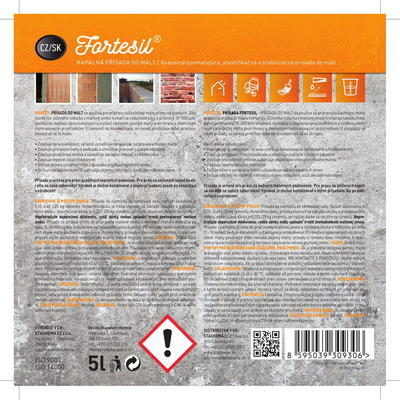 FORTESIL - přísada do malt 5 l - 3