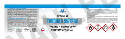 SINEPOX S 2321 ČSN 1999 (černá), lesklý - set 1,4 kg - 3
