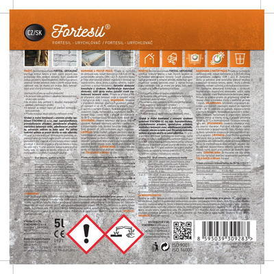 FORTESIL - urychlovač 5 l - 3