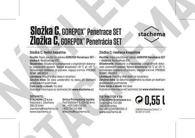 GOREPOX PENETRACE vodouředitelná, set 1,73kg - 4
