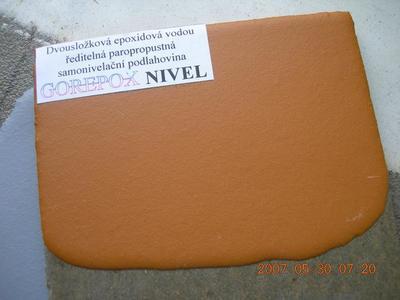 GOREPOX NIVEL, šedá, 5kg set  - 4