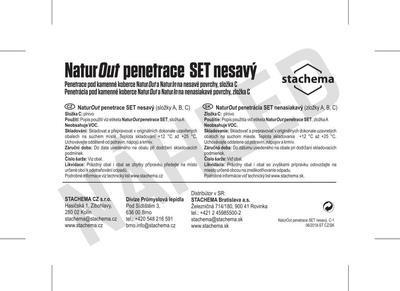NaturOut penetrace SET nesavý - 2kg (složky A,B,C) - 4