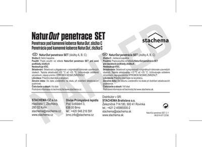 NaturOut penetrace SET - 1,73kg (složky A,B,C) - 4