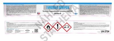 SINEPOX S 2321 ČSN 1000 (bílá), lesklý - set 10 kg - 4