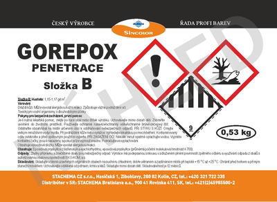 GOREPOX PENETRACE vodouředitelná, set 10kg - 6
