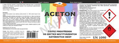 Aceton 4kg/5l - 7