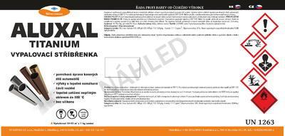 Vypalovací stříbřenka Aluxal TITANIUM 8kg - 7