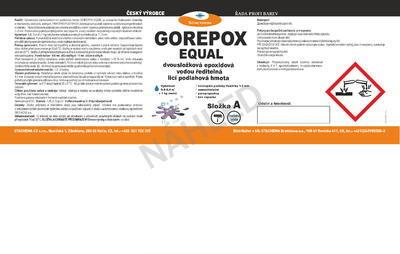 GOREPOX EQUAL, RAL 7035 10kg set - 7