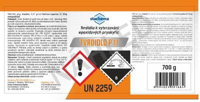 Tvrdidlo pro Eprosiny a epoxidy P11 700g - 7