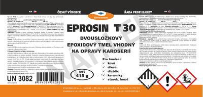 Nestékavý tmel Eprosin T 30, souprava 415 g - 7