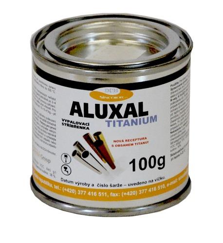 Vypalovací stříbřenka Aluxal TITANIUM 100g