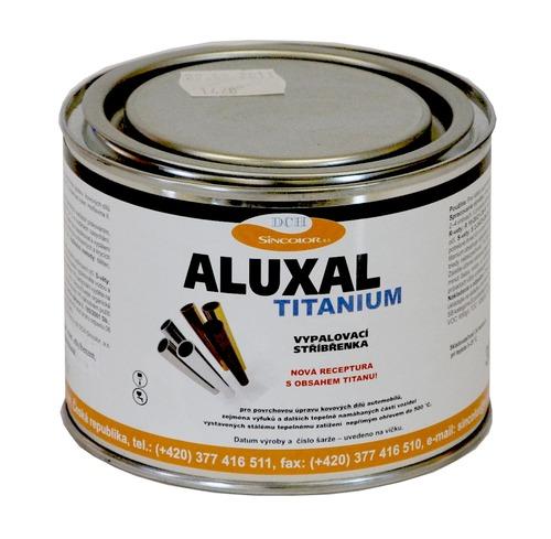 Vypalovací stříbřenka Aluxal TITANIUM 300g