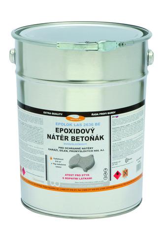 Epoxidová barva na beton LAS 2636 BE 0110 (šedá) 20kg