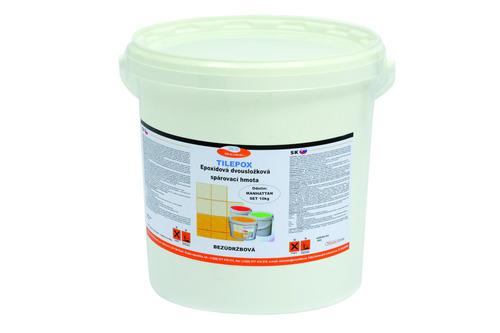TILEPOX, epoxidová spár. hmota, světle šedá (manhattan), EASY, set 5 kg
