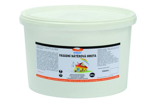 Fasádní nátěrová hmota č. 99, bílá, 10kg