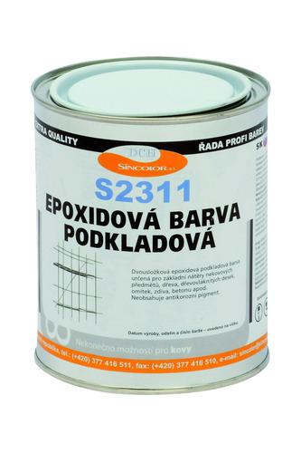 Epoxidový podklad S 2311 0100 (bílý), 1kg