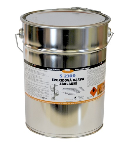 Epoxidový základ na kov S 2300 0100 (bílý) 10kg