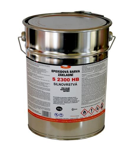 Epoxidový základ na kov S 2300 HB, 0100 (bílý), silnovrstvý 10kg