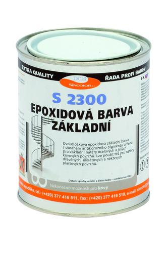 Epoxidový základ na kov S 2300 0100 (bílý) 1kg